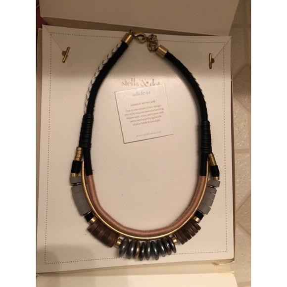 Stella & Dot alay statement necklace